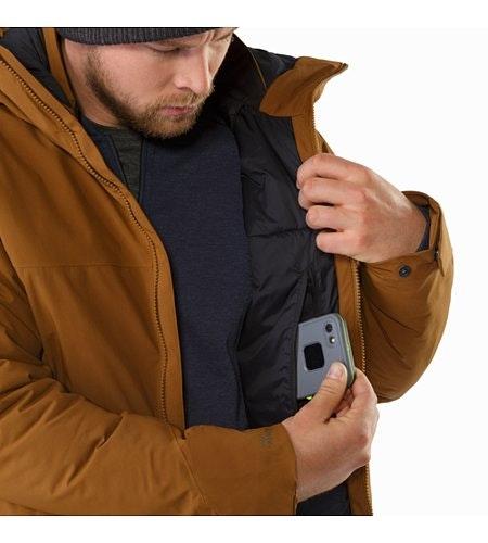Koda Jacket Caribou Internal Security Pocket