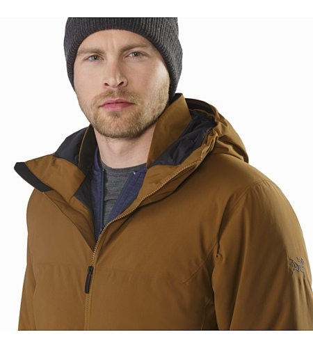Koda Jacket Caribou Open Collar