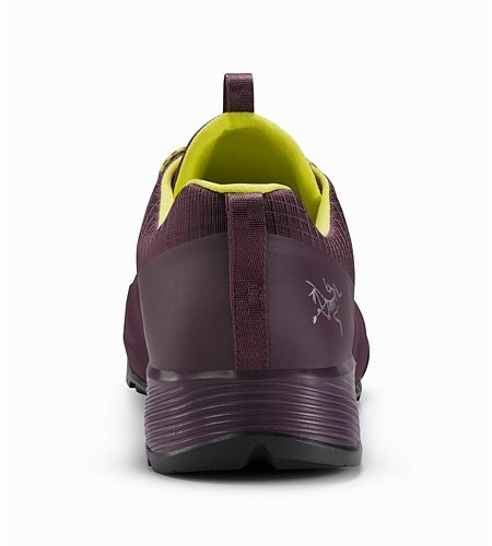 Konseal FL Shoe W Purple Reign Lumen Lime Back View