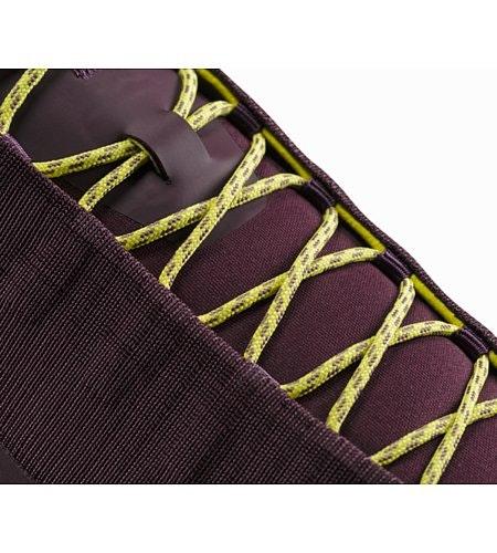 Konseal FL Shoe W Purple Reign Lumen Lime Lace Detail