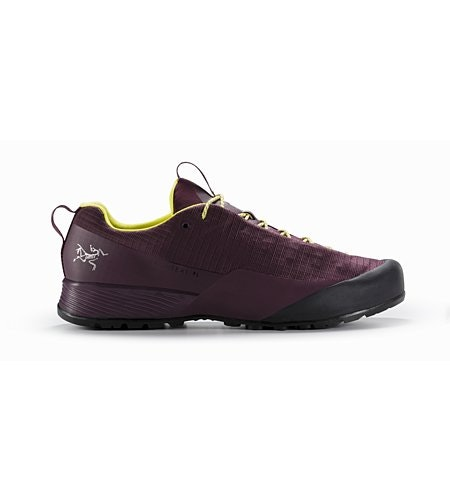 Konseal FL Shoe W Purple Reign Lumen Lime Side View
