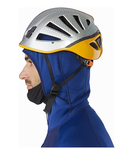 Konseal Hoody Corvo Blue Hood Side View