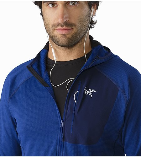 Konseal Hoody Corvo Blue Media Port