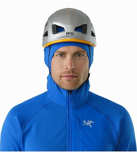 Konseal Hoody Rigel Helmet Compatible Hood Front View