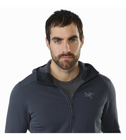 Kyanite Hoody Nighthawk Open Collar