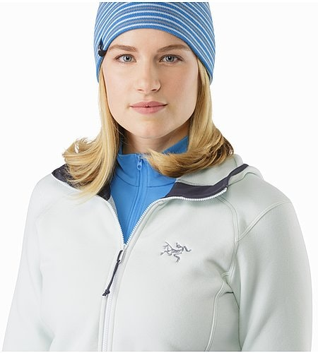 Kyanite Hoody Women's Dew Drop Open Collar 2