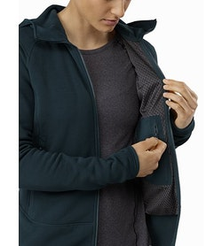 Kyanite Hoody Women's Labyrinth Internal Security Pocket