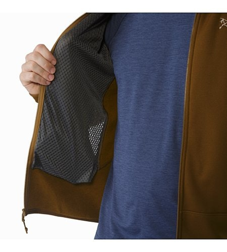 Kyanite Jacket Caribou Hand Pocket