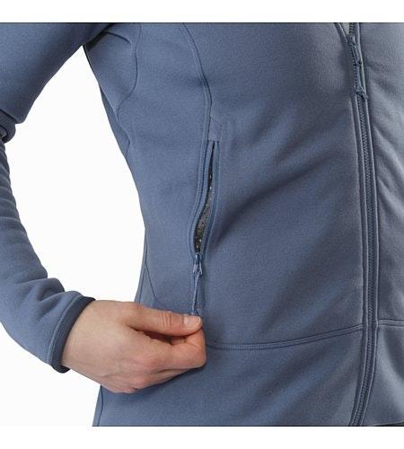 Kyanite Jacket Women's Nightshadow Hand Pocket