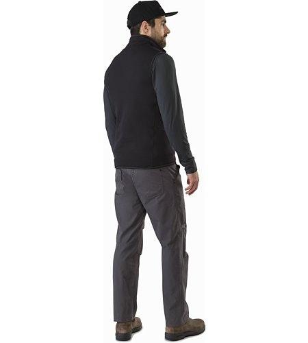 Kyanite Vest Black Back View