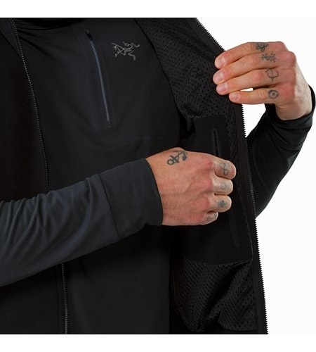 Kyanite Vest Black Internal Security Pocket