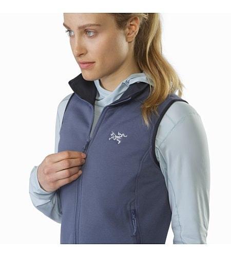 Kyanite Vest Women's Nightshadow Collar