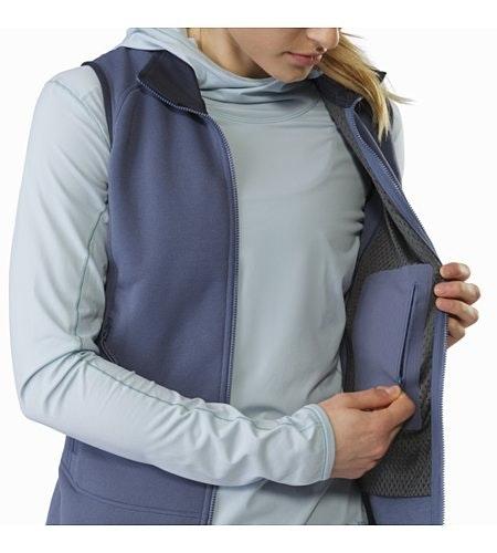 Kyanite Vest Women's Nightshadow Internal Security Pocket