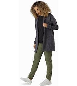 Laina Cardigan Women's Carbon Copy Outfit