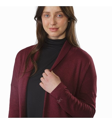 Laina Cardigan Women's Merbau Collar