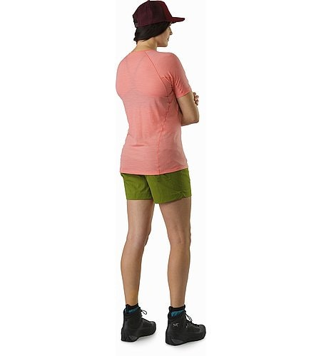 Lana Shirt SS Women's Lamium Pink Back View