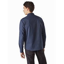 Lattis Shirt LS Exosphere Back View