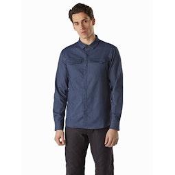 Lattis Shirt LS Exosphere Front View