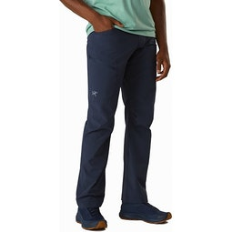 Lefroy Pant Cobalt Moon Front View