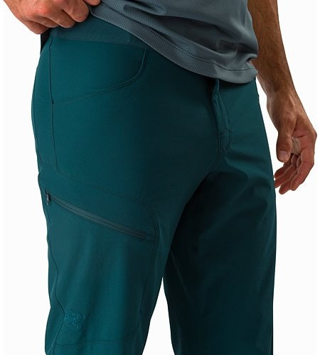 Lefroy Pant Labyrinth External Pockets Front