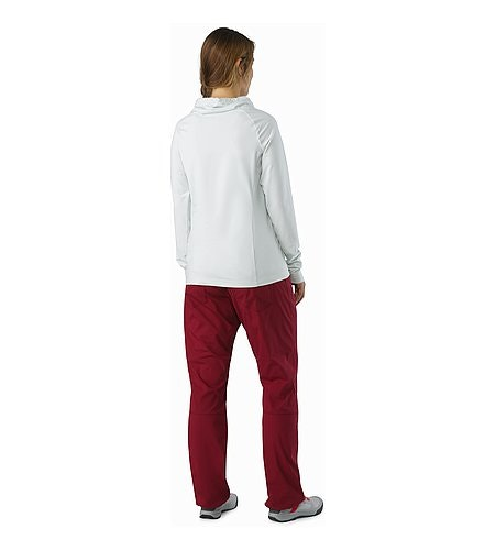 Levita Pant Women's Scarlet Back View