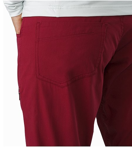 Levita Pant Women's Scarlet External Pocket Back