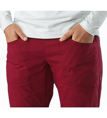 Pantalon Levita Femme Scarlet Poche extérieure à l'avant