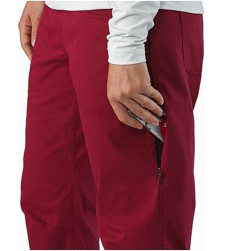 Levita Pant Women's Scarlet Thigh Pocket