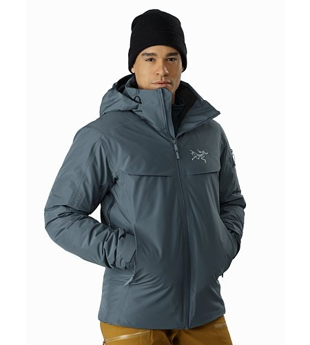 Macai Jacket Neptune Front View