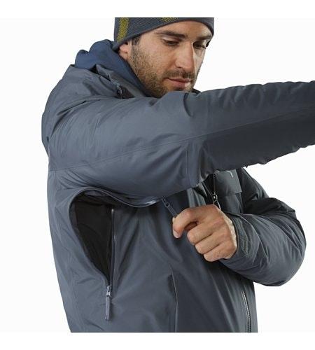 Macai Jacket Neptune Pit Zip