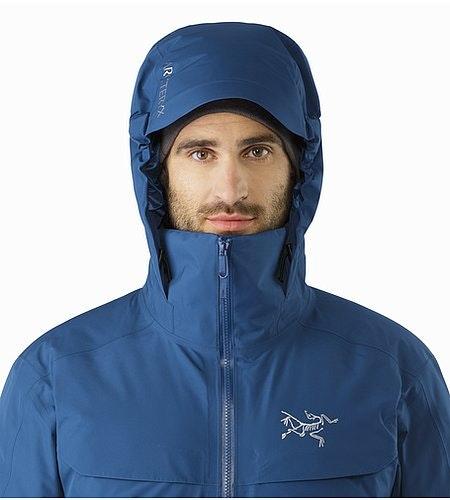 Macai Jacket Triton Hood Front View