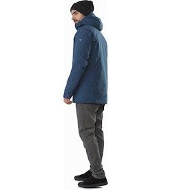 Magnus Coat Hecate Blue Back View