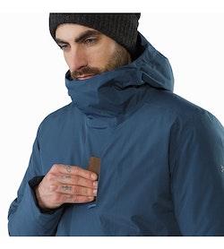 Magnus Coat Hecate Blue Chest Pocket