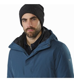 Magnus Coat Hecate Blue Open Collar