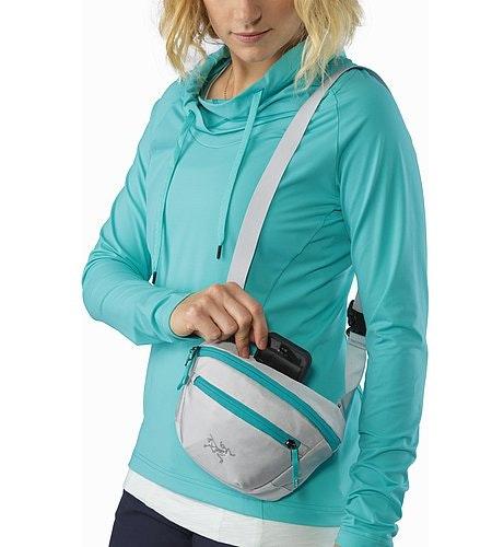 Maka 1 Waistpack Delos Grey Back Panel Slip Pocket