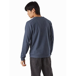 Mentum Pullover Exosphere Heather Back View