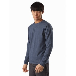 Mentum Pullover Exosphere Heather Front View