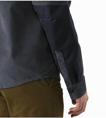 Merlon Shirt LS Heron Cuff
