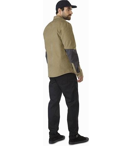 Merlon Shirt LS Ordos Back View