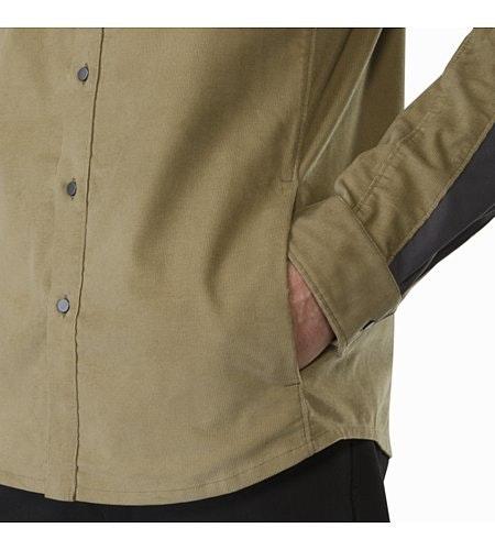 Merlon Shirt LS Ordos Hand Pocket