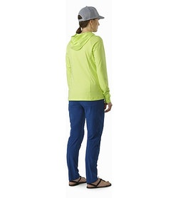 Mica Pant Women's Poseidon Back View