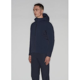 Mionn IS Comp Hoody Dark Navy 3 4 View