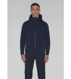 Mionn IS Comp Hoody Dark Navy Front View