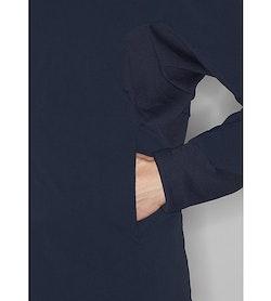 Mionn IS Comp Hoody Dark Navy Hand Pocket