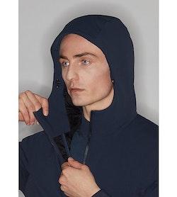 Mionn IS Comp Hoody Dark Navy Hood Adjuster
