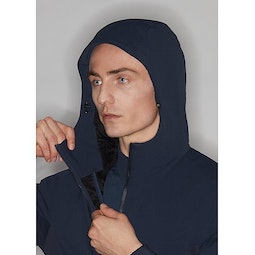 Mionn IS Comp Hoody Dark Navy Hood Adjuster