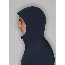 Mionn IS Comp Hoody Dark Navy Hood