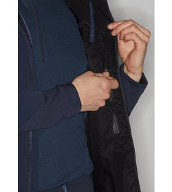 Mionn IS Comp Hoody Dark Navy Internal Security Pocket