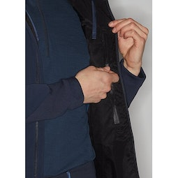Mionn IS Comp Hoody Dark Navy Internal Security Pocket
