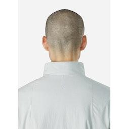 Mionn IS Jacket Vapor Collar Back View